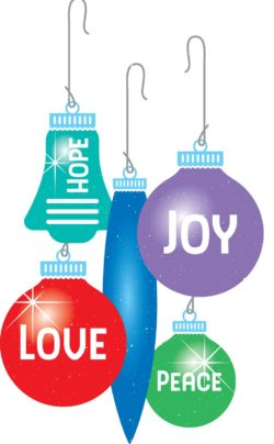 HOPE, PEACE, JOY & LOVE