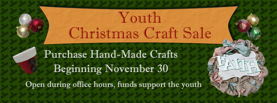 Youth Christmas Craft Sale