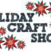 holiday craft show surronded by poinsettia flower graphics